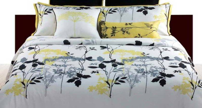 Bedding Gray Bedroom Black Grey Yellow Bathroom