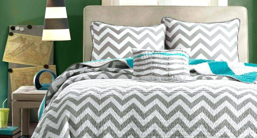 Bedroom Adorable Gray Teal Grey Silver