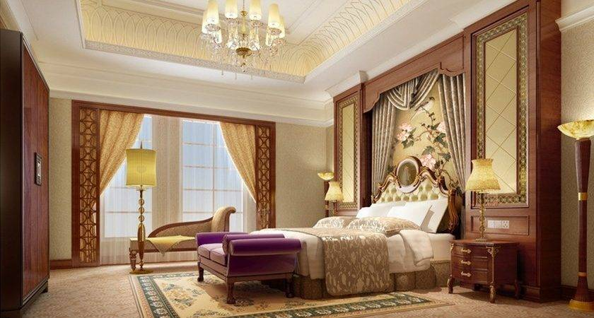 Bedroom Amazing European Luxury Design Interior