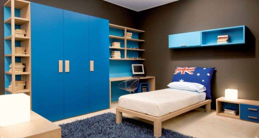 Bedroom Beautiful Small Kids Design Idea Blue