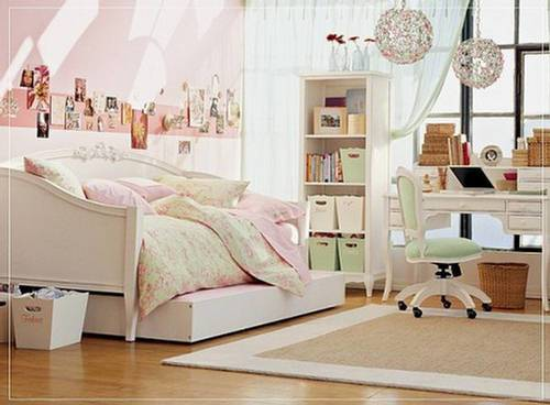 Bedroom Castle Teen Girls Cute Furniture