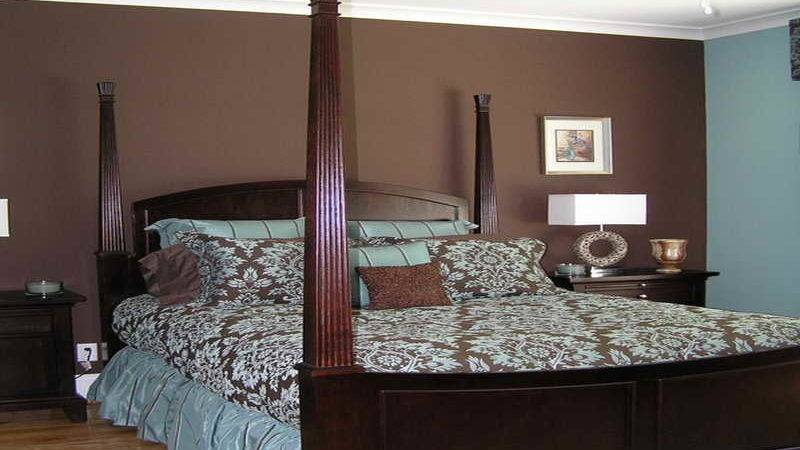Bedroom Clasic Design Brown Blue Ideas Cool