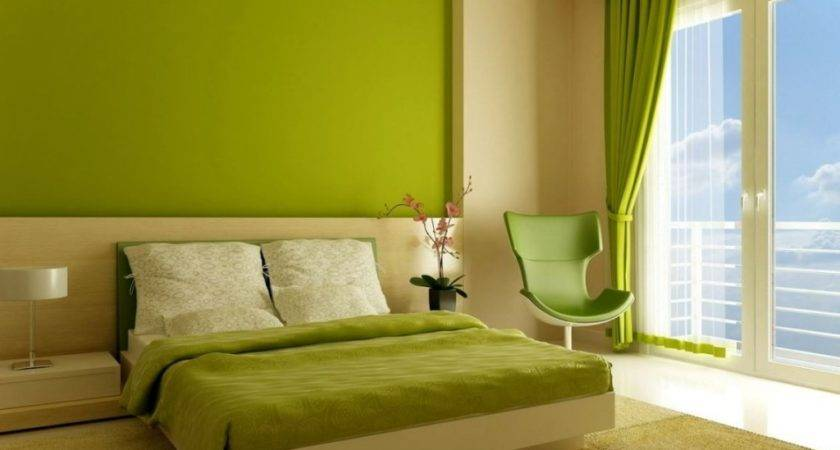 Bedroom Colors Lime Green Beige Color Wall