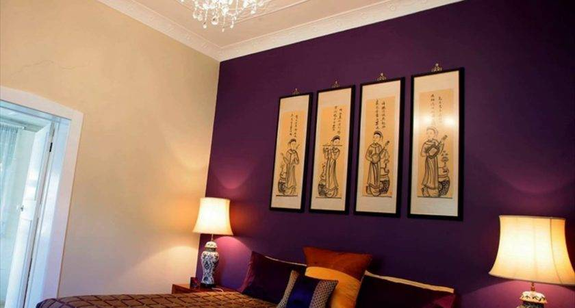 Bedroom Colors Purple Home Interior Designing