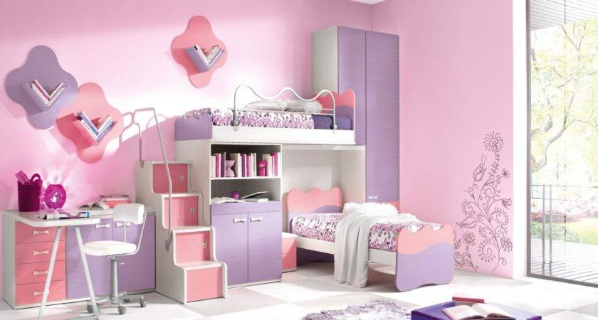 Bedroom Contemporary Astonishing Kids Room Style Pink