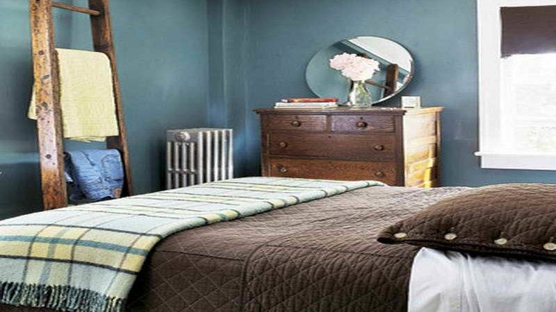 Bedroom Cool Brown Blue Ideas Bright