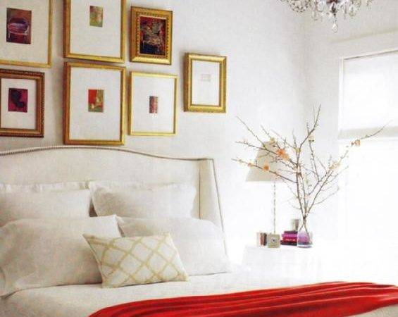 Bedroom Decorating Ideas Red Black White Home Delightful