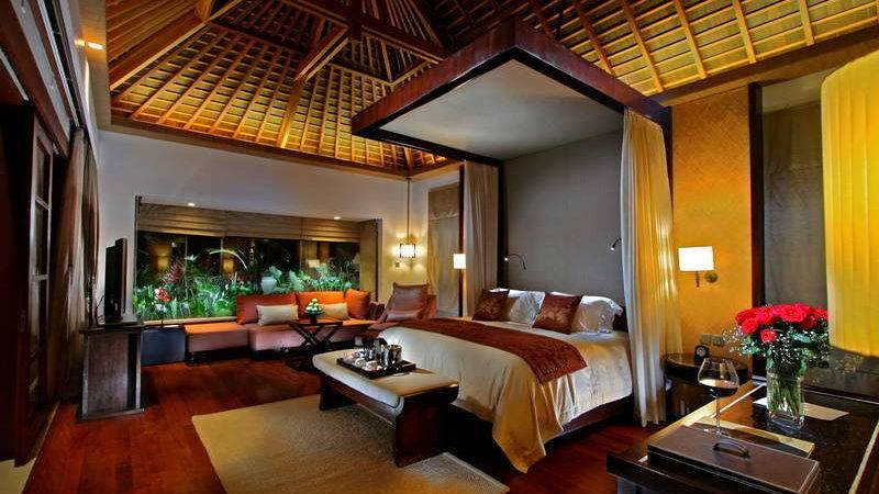 Bedroom Exotic Dramatic Designs Couple