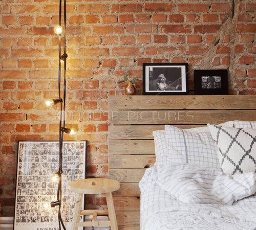 Bedroom Exposed Brick Wall Living Room Decorating