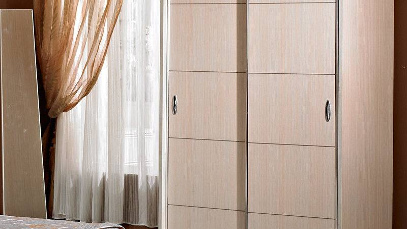 Bedroom Furniture Cheap Sliding Door Wardrobe