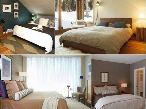 Bedroom Glamor Ideas Earth Tones
