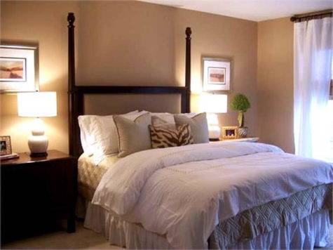 Bedroom Guest Decorating Ideas Table Lamp