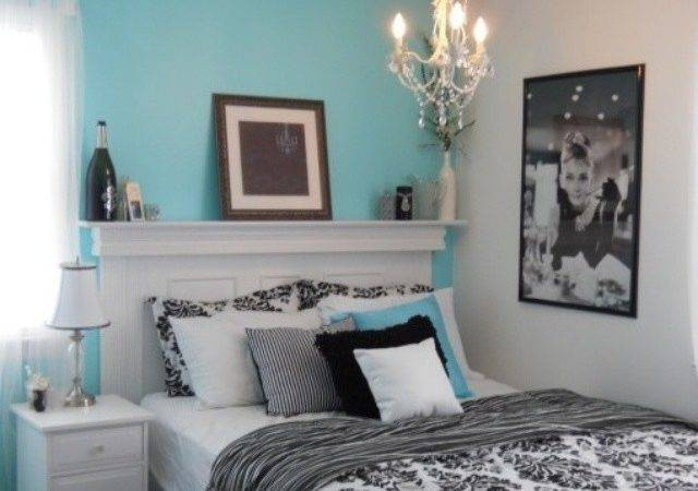 Bedroom Ideas Teal Black White Home Delightful