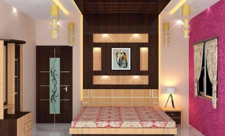 Bedroom Interior Sunny Singh Designer