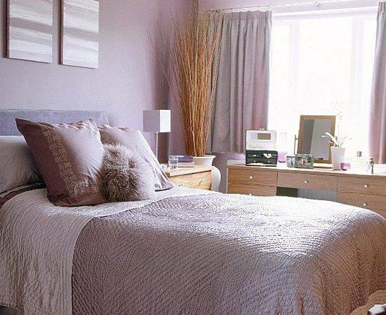 Bedroom Lilac Walls Housetohome