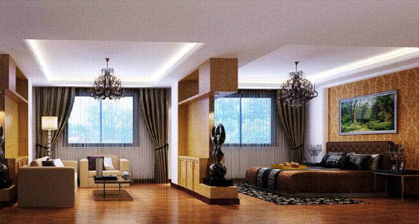 Bedroom Living Room Partition Design Model House