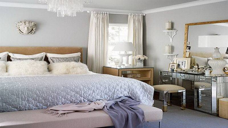 Bedroom Luxurious Blue White Paint Colors Master