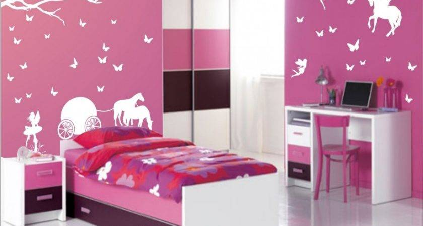 Bedroom Pink Paint Colors Teenage Ideas