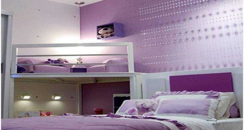 Bedroom Purple Decor Beautiful Lilac