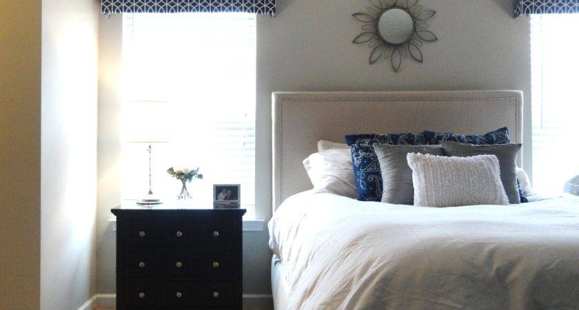Bedroom Unusual Gray Navy Grey Beige