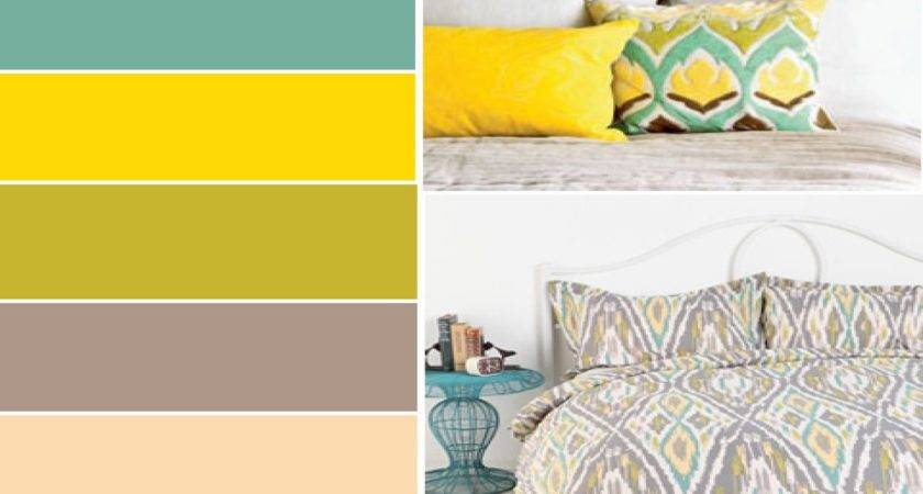 Bedroom Wall Accents Gray Color Schemes Palette