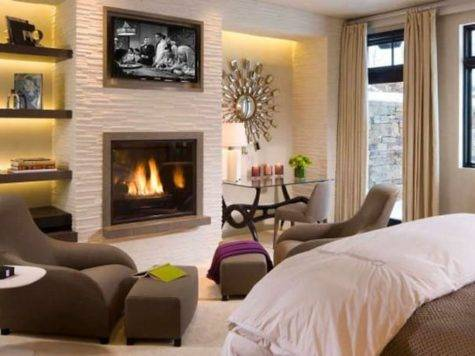 Bedrooms Fireplaces Make Winter Lovely Season