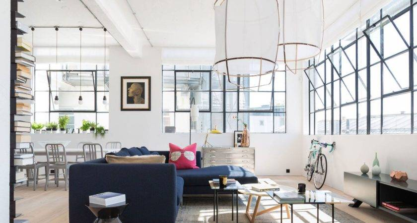 Before After Modern Eclectic Style Loft Design Decorilla