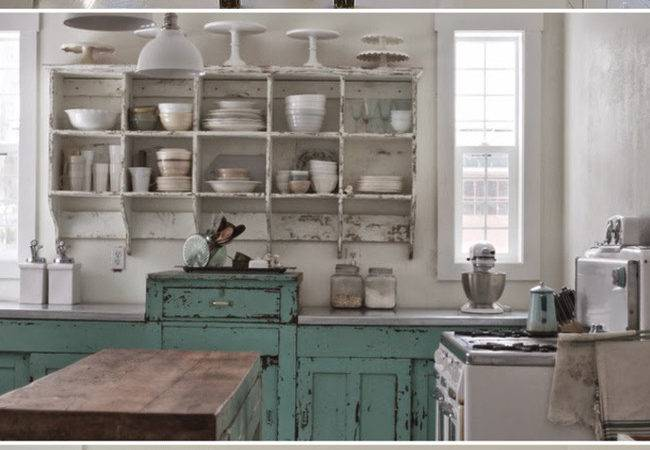Before After Shabby Chic Modern Vintage Kitchen
