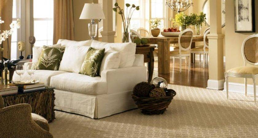 Beige Berber Carpet Color Chic Living Room Ideas