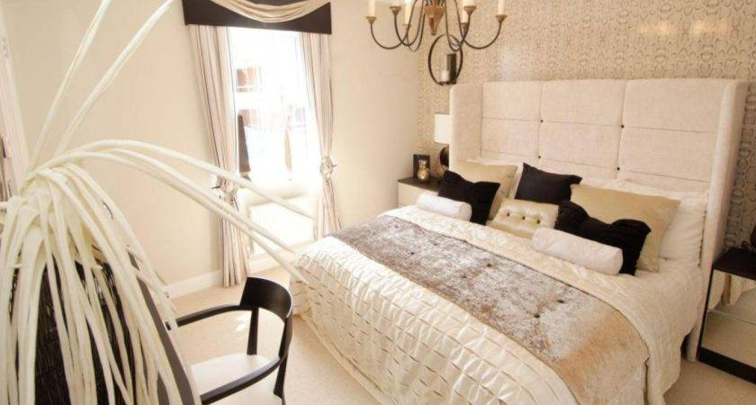 Beige Black Bedroom White Idea