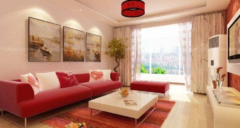 Beige Couches Living Room Design Modern House