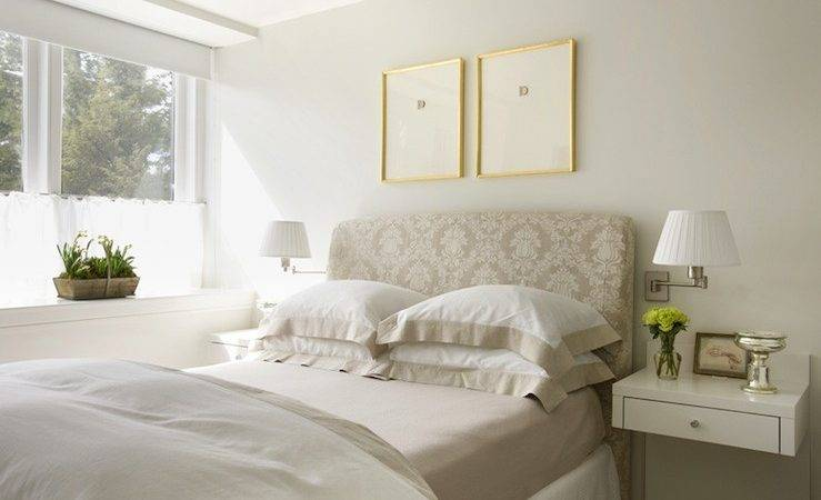Beige Headboard Design Decor Photos Ideas