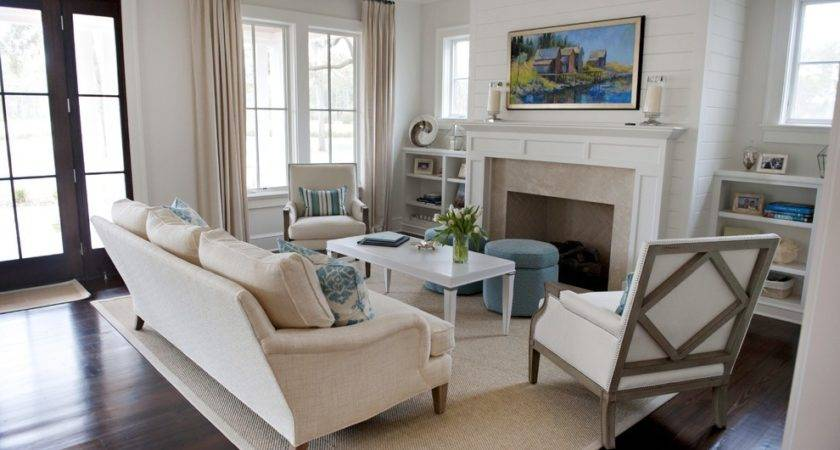 Beige Living Room Beautiful Cozy