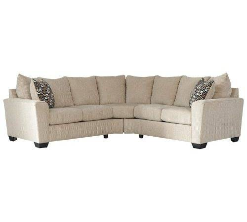 Benchcraft Wixon Piece Corner Sectional Rounded