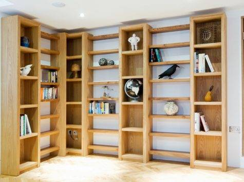 Bespoke Shelving Made Oak Elm Hand Redruth
