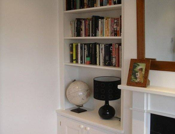 Best Alcove Shelving Ideas Only Pinterest