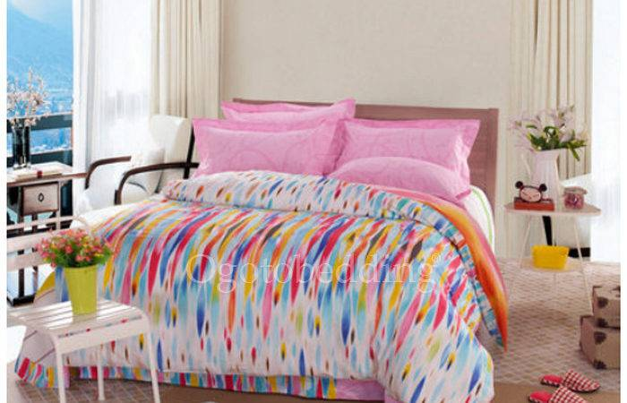 Best Artistic Colorful Patterned Teen Guy Bedding Sets