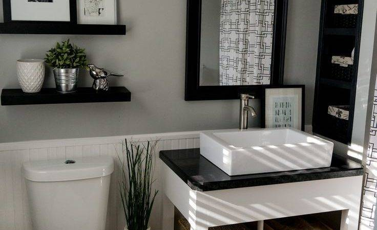 Best Black White Bathroom Ideas Pinterest