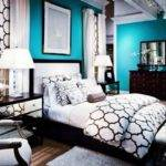 Best Black White Teal Bedroom