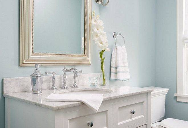 Best Blue Powder Rooms Ideas Pinterest Neutral Bathroom