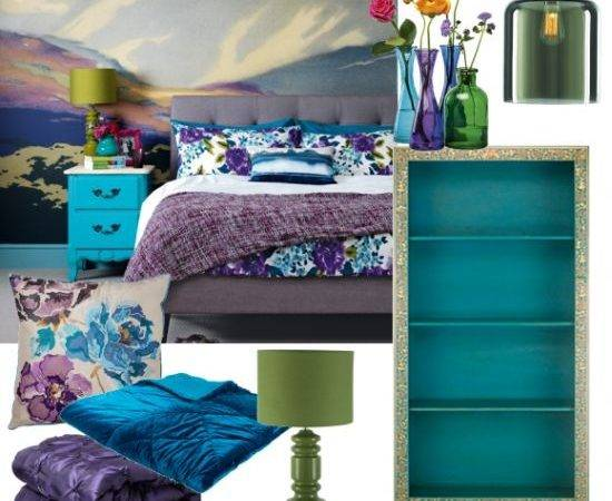 Best Blue Purple Bedroom Ideas Pinterest Jewel
