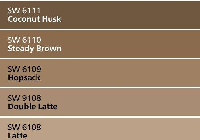 Best Brown Paint Colors Ideas Pinterest Rustic