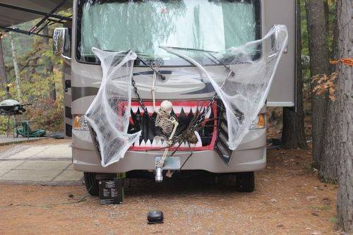 Best Campsite Decorating Tips Halloween Silent