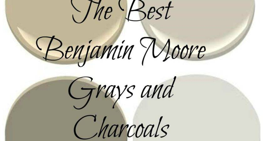 Best Charcoal Gray Paint Color Benjamin Moore Kendall