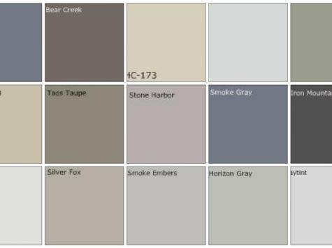 Best Charcoal Grey Paint Color Chart Valspar