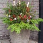 Best Christmas All Seasonal Planters Decorating