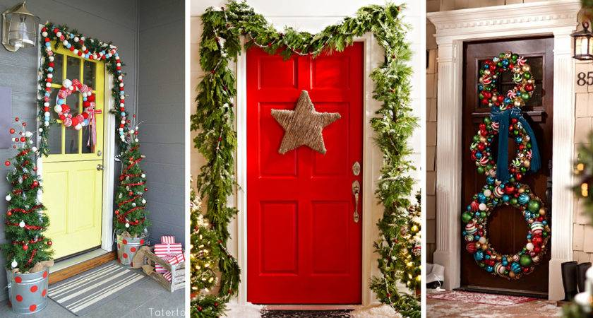 Best Christmas Door Decorations