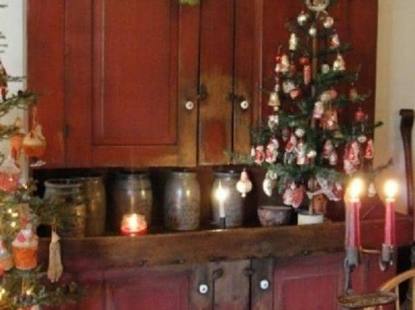 Best Christmas Trees Colonial Primitive Country