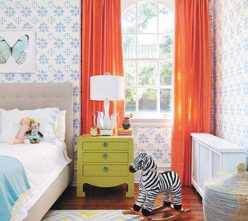 Best Curtains Colors Kids Room Interior Decorating
