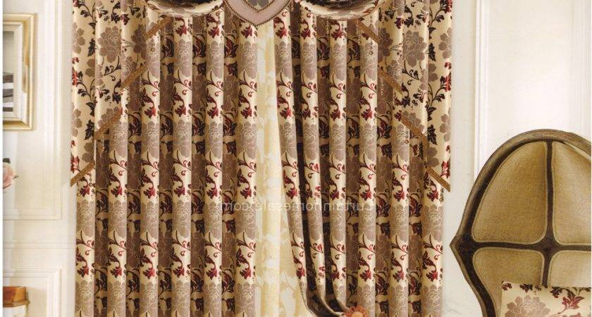 Best Curtains Living Room Patterned